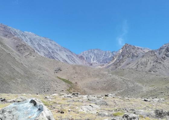 Ascenso Cerro Stepanek - Campamento Las Veguitas