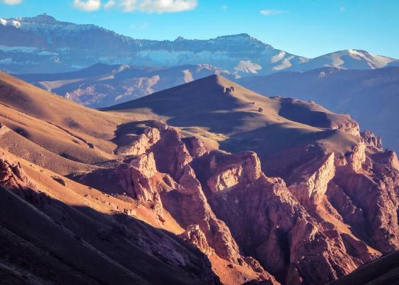 Ascenso Cerro Penitentes - Cordillera de los Andes