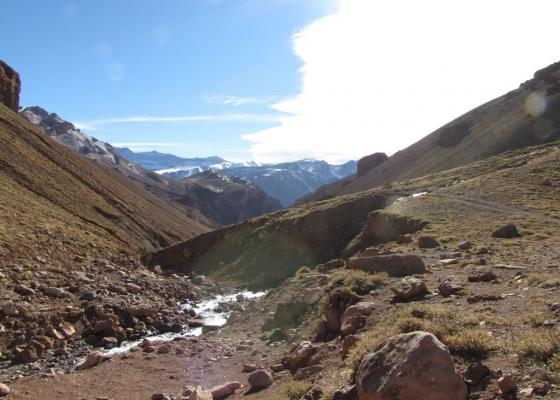 Ascenso Cerro Penitentes - Quebrada de Vargas
