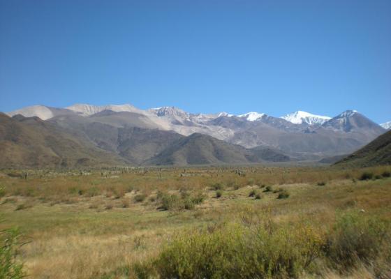 Nevado de Cachi - Libertador Gral. San Martin 6356 msnm.