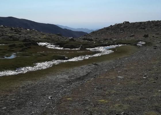 Ascenso Cerro Vallecitos   Campamento Veguitas