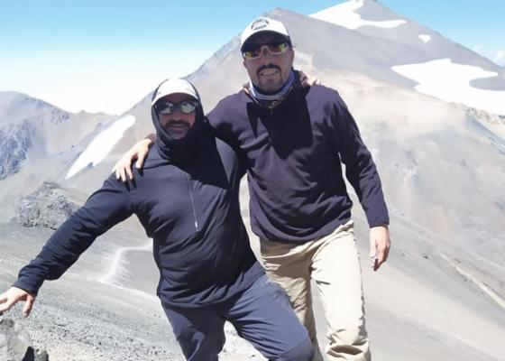Ascenso Cerro Vallecitos   Cumbre