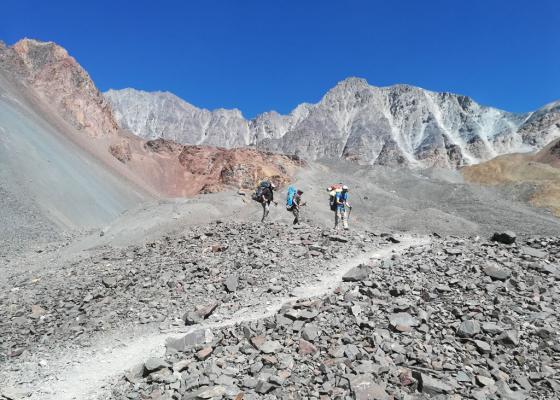 Ascenso Cerro Vallecitos   Sendero