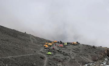 Ascenso Cerro Vallecitos | Campamento El Salto