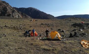 Ascenso Cerro Vallecitos | Campamento Veguitas