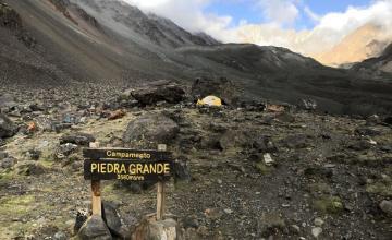 Ascenso Cerro Vallecitos | Campamento Piedra Grande