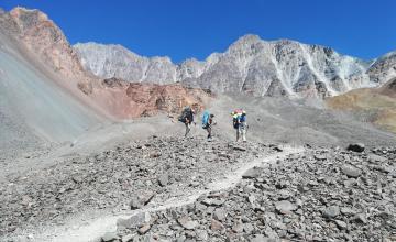Ascenso Cerro Vallecitos | Sendero