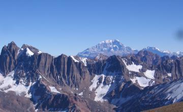 Ascenso Cerro Vallecitos | Cordillera de los Andes